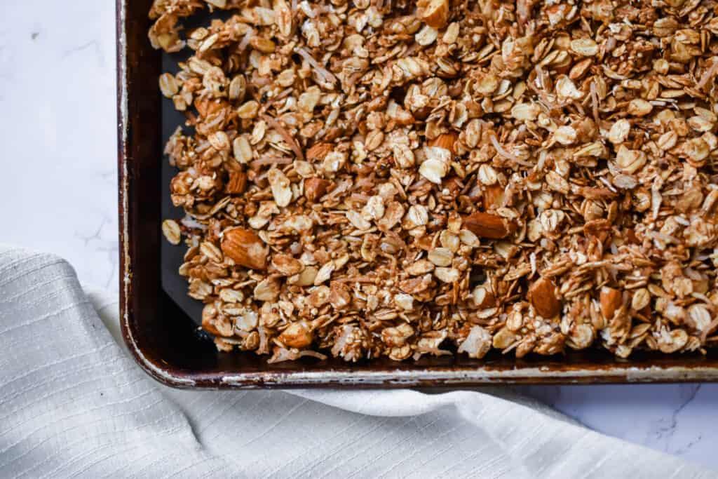 cherry and almond granola