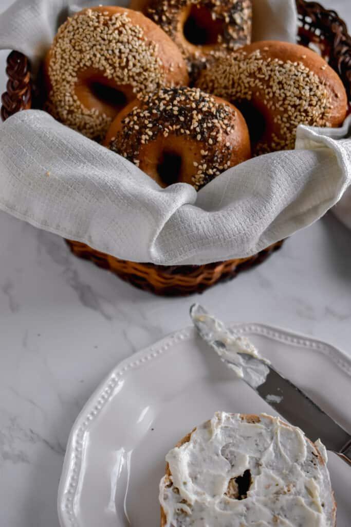 Homemade Sourdough Bagels