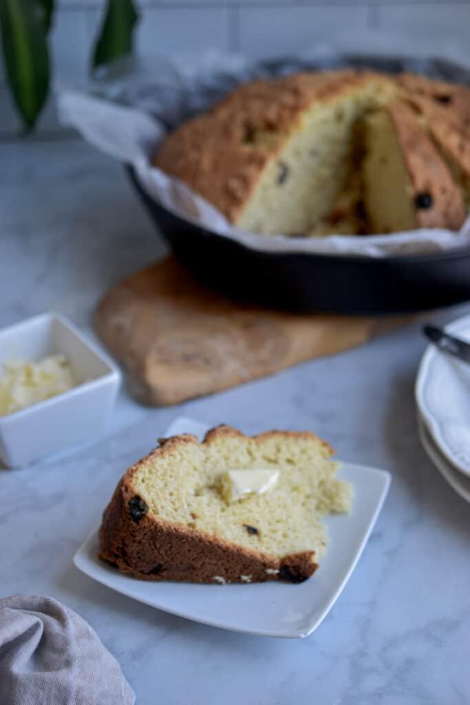 Non traditional Irish Soda Bread