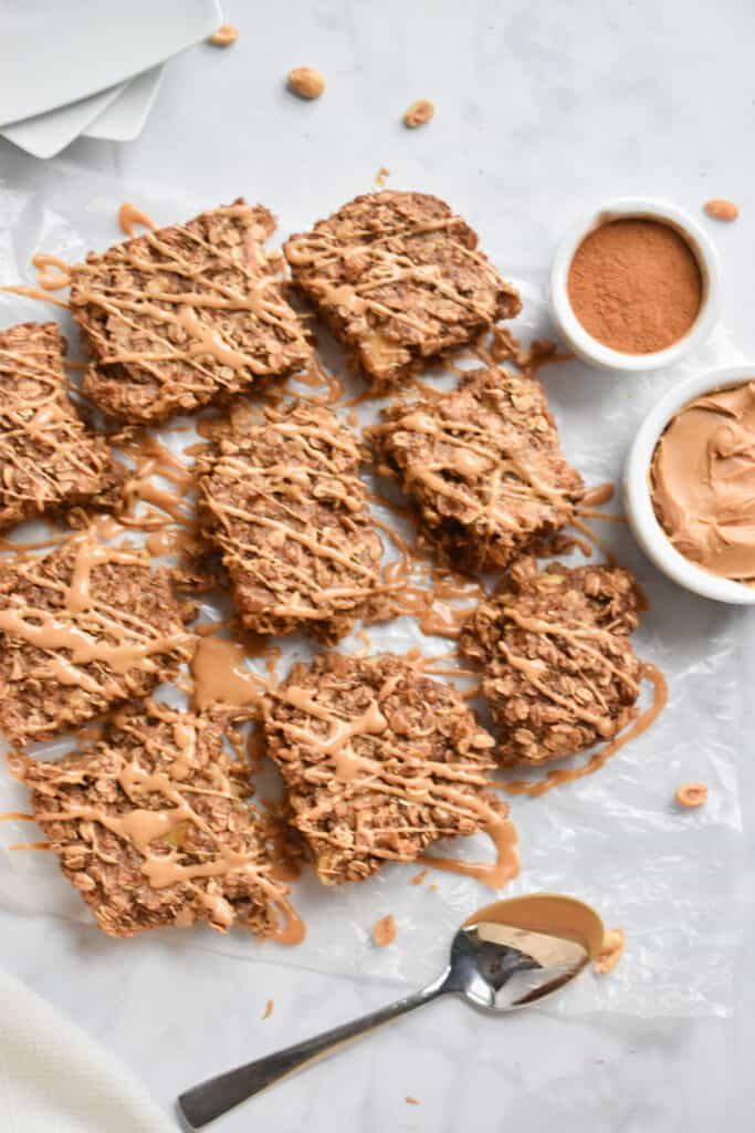 Drizzles of Peanut Butter