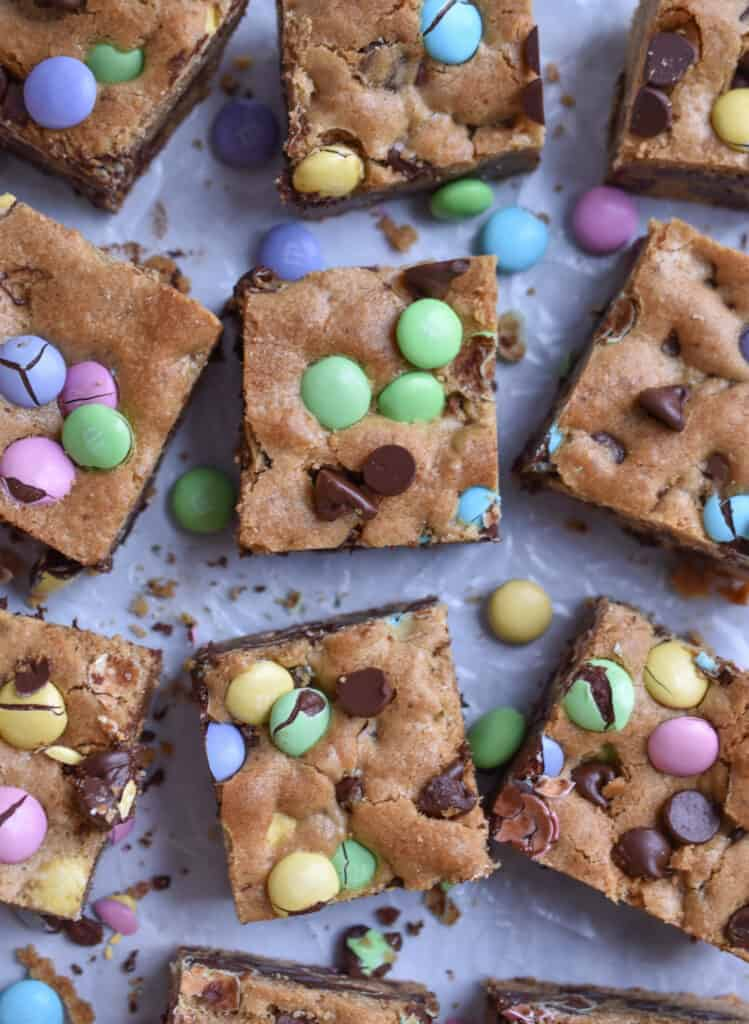 Cooled Brown Butter Blondies