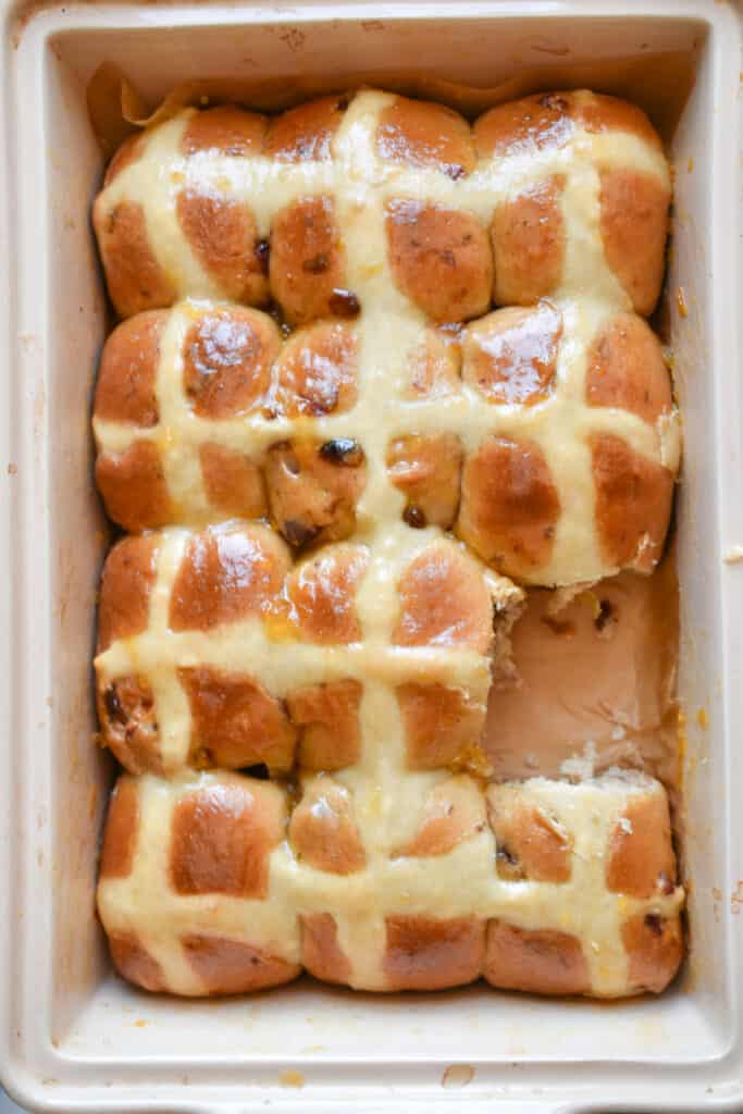 Cinnamon Hot Cross Buns