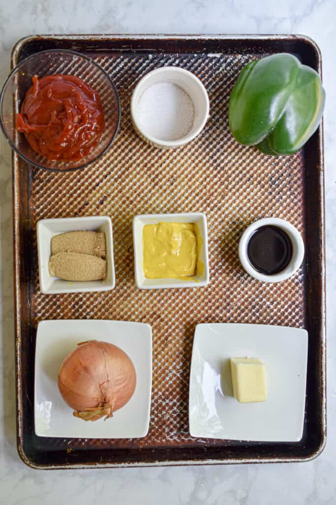 Ingredients for the Barbecue Sauce