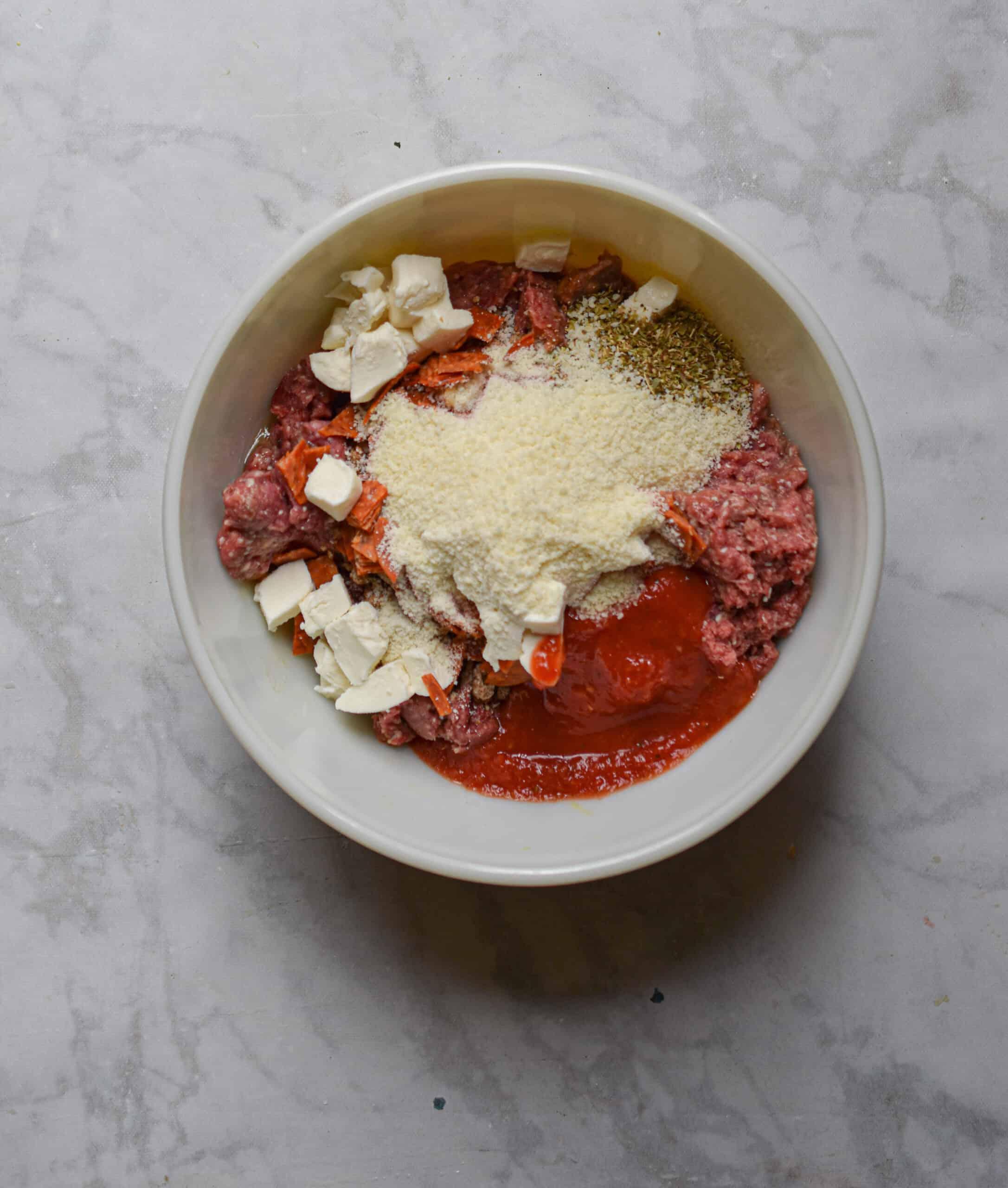 Add the tomato sauce